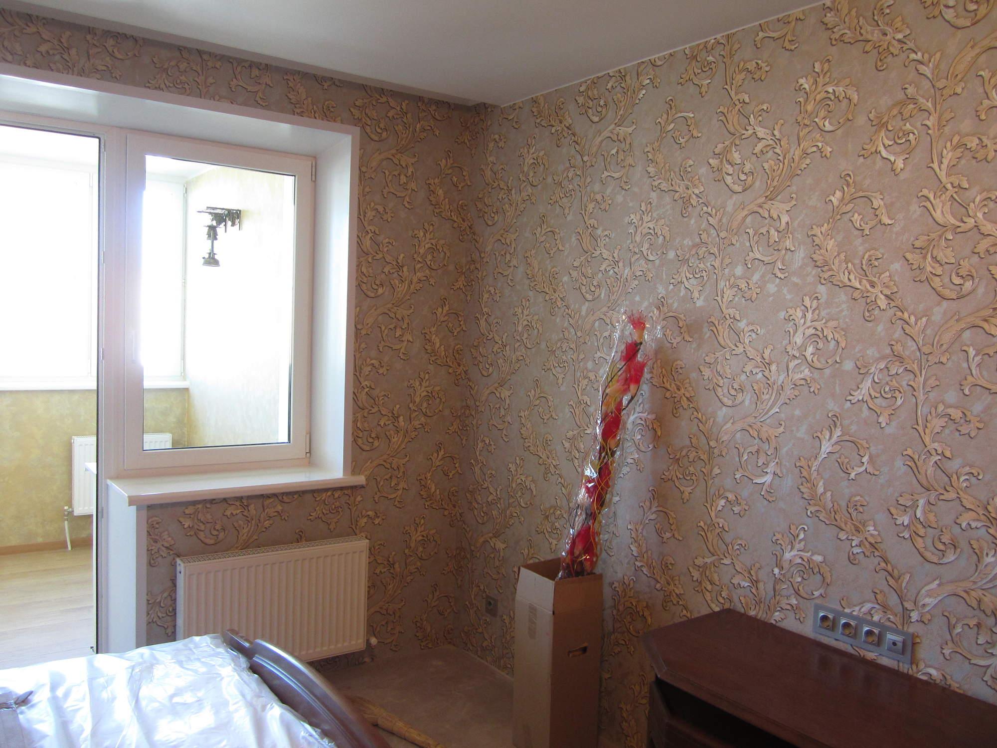 Выбор обоев для комнаты фото